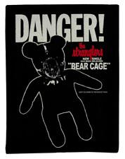 THE STRANGLERS COTTON PATCH BEAR CAGE BONDAGE MASK TEDDY PUNK ROCK 1977 SINGLE