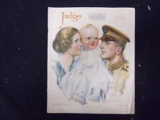 1918 OCTOBER 12 JUDGE MAGAZINE - NICE ILLUSTRATIONS, STORIES AND ADS - ST 3828