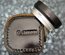 Canon S-50 Hood for 50mm f1.4  #6. ............ Minty