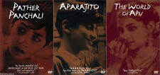 THE APU TRILOGY: PATHER PANCHALI, APARAJITO, THE WORLD OF APU - Like New DVDs