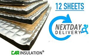 Car Bonnet Insulation Thermal Shield Sound Deadening GlassMAT™ GR (12 Sheets) UK