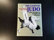 Rare! The Canon Of Judo by Kyuzo Mifune (2004) 1st Edition Hardcover