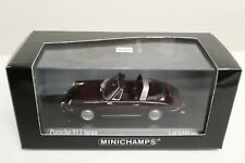 Minichamps Porsche 911 Targa Burgundrot F-Modell Cabriolet 1:43 400061160