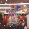 "BOBO Balloons 18""Inch Colourful feather confetti filled PVC clear Party ballonUK"