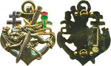 COMMANDO KIEFFER  MARINE FORCES SPECIALES  attache type pin's, G.L.F. (réf 1569)