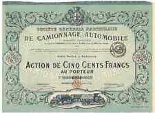Dissociata NACE automobile 1920 Marsiglia Decorazione