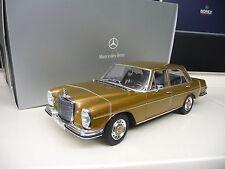 1:18 Norev Mercedes 280SE W108 Byzanzgold 1968 NEU NEW