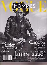VOGUE PARIS HOMMES FASHION Magazine #23 Spring/Summer 2016, JAMES JAGGER.