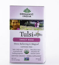 Organic India - Tulsi Sweet Rose Tea - 18 Bags, 1.01 oz.