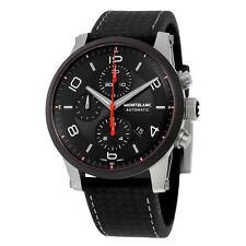 Montblanc Timewalker Urban Speed Chronograph Automatic Black Dial Mens Watch