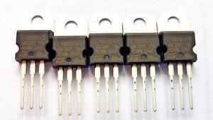 L7805CV 7805CV GENUINE  Standard Regulator Pos 5V 1.5A 3-Pin TO-220 7805 x10pcs