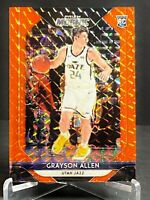 2018-19 PANINI PRIZM MOSAIC ORANGE #/99 ROOKIE RC GRAYSON ALLEN JAZZ #33