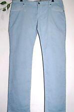 HUGO BOSS ORANGE Men's Light Blue Slim Fit Cotton Blend Jeans Size 38/32 NEW