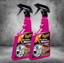 2x Meguiars Caliente Rims ALL wheel & Neumático Limpiador Ruedas 710ml g9524