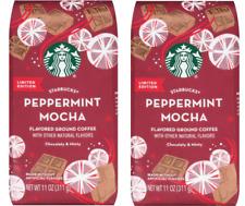 Starbucks Holiday Peppermint Mocha Flavored Ground Coffee - 11 oz