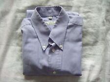 "BEN SHERMAN MAUVE PURPLE SHIRT 15.5"" COLLAR M MEDIUM PC"