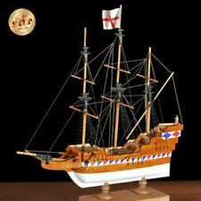 "Amati 11"" Elizabethan Galleon First Step Wooden Ship Model Kit Beginners"