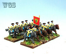 15MM WGS Seven Years War SYW Painted Russia Dragoons RB8