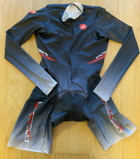 Brand New Original CASTELLI ROSSOCORSA BODY PAINT Cycling Tracksuit L