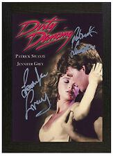 A3 Framed Poster Dirty Dancing Signed Picture