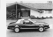 Ford Mustang Ghia (Reino Unido problema) Foto de prensa 1973 de agosto de 1974