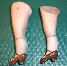 """Antiguo piernas 2.2"""" para la fijación de alambre de muñeca casa de muñecas"""
