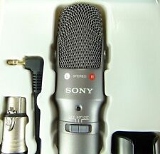 Sony Condenser Cable Professional Microphone ECM-MS957 /Free Shipping From Japan