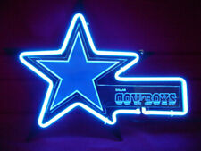 Dallas Cowboys Carved Neon Sign Bed Room Home Decor Beer Bar Light