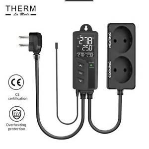 STC-1000Pro EU Digital Temperature Controller Thermostat Regulator,Dual Relay,