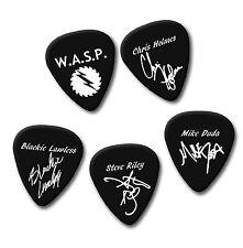 WASP W.A.S.P.  Blackie Steve Chris signature print plectrum guitar pick picks