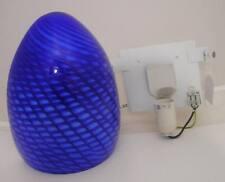 Plafoniere Vetro Blu : Lampade da parete interno blu e regali di natale su ebay
