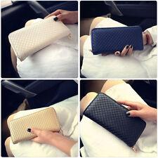 Fashion Women Lady Leather Clutch Wallet Long Card Holder Case Purse Handbag Bag