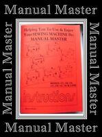Singer Merritt 141,157,158,159,161,217 & 219 Sewing Machine instructions Manual