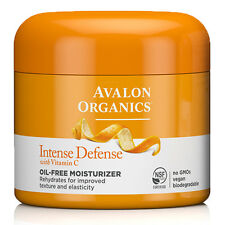 Avalon Organics Intense Defense Oil-Free Moisturiser with Vitamin C 57g