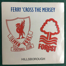 "Various – Ferry 'Cross The Mersey Vinyl 7"" Single – PWL41 1989"
