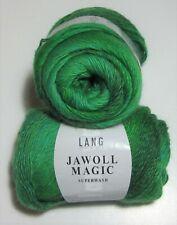 New listing 100g ball Lang Jawoll Magic Superwash Sock knitting yarn #1001 Gradient Green