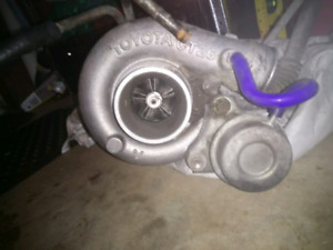 Toyota cressida 88,89 original turbo set up come with pipes and intercooler