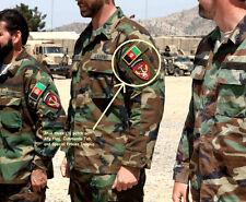 KANDAHAR WHACKER JSOC AFGHAN NATIONAL ARMY INSIGNIA: JTF ANA COMMANDO + AFG Flag