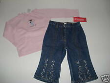 NWT Gymboree Winter Princess Angel Shirt Jeans 12-18