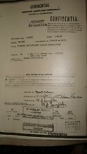 """SUPER RARE"" BOEING MODEL MX-1022 PROJECT REPORT DATED 1952"