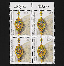 1992 germany Set Sc#1662 Mi#1628 Numeral Margin Block MNH