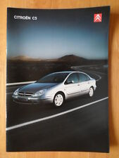 CITROEN C5 Saloon 2003 2004 UK Mkt prestige sales brochure