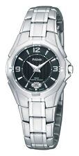 Pulsar by Seiko, Ladies PXT795 - Dress Sport Black Dial Watch