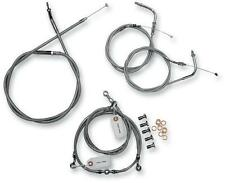 "BA-8021KT-16 Baron 16"" Handlebar Cable and Line Kit , Stainless Steel"