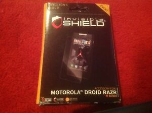 Zagg invisibleSHIELD Full Body Protective Film for Motorola Droid RAZR!  NEW!