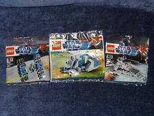 Lego MTT + Star Destroyer + TIE Fighter Polybags 30059 30056 8028  New Sealed