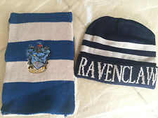 2pcs/set Harry Potter Ravenclaw Wool Scarf  +Cap Hat /Cap Costume Cosplay