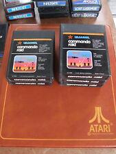 ATARI 2600 REGION FREE OFFERS/COMBINE - VIDTEC US GAMES - COMMANDO RAID