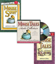 Mouse Tales & Mouse Soup Collection by Arnold Lobel (2 Paperbacks & Audo CD)