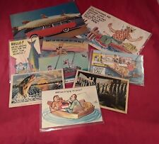 Vintage Fishing Post Cards.